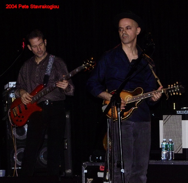 (L to R) Graham Maby and James Mastro
