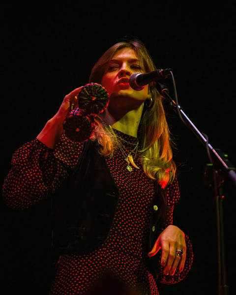 Ida Mae at the Brown Theatre in Louisville, Kentucky on November 27, 2019. Photo by Tony Vasquez