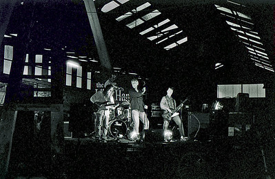 Idle Hands @ Barrowhill Roundhouse 35mm B+W film