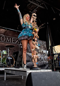 In this Moment - Rockstar Mayhem Festival 07-13-2010 Auburn WA