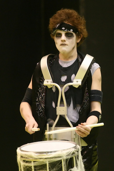 Indiana high school indoor drumline and guard teams performed at Ben Davis High School in the State Finals, March 15, 2008.  <br />   PHOTO BY ALEX TURCO