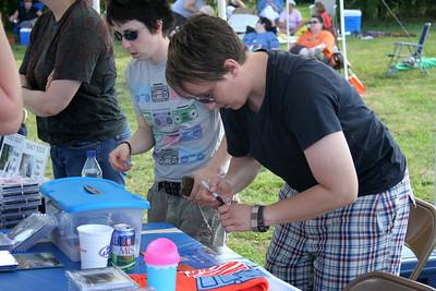 Audrey Signing Autographs