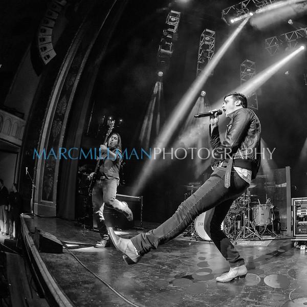 Kickin' It (B&W)<br /> <br /> Parachute @ Capitol Theatre (Mon 4/7/14)