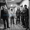 Peter Levin & his band joke around during photo shoot
