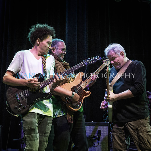 Ian Neville jams with Funky Meters