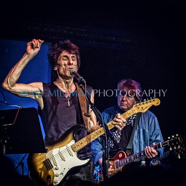 Ron Wood & Mick Taylor @ The Cutting Room (Fri 11/8/13)