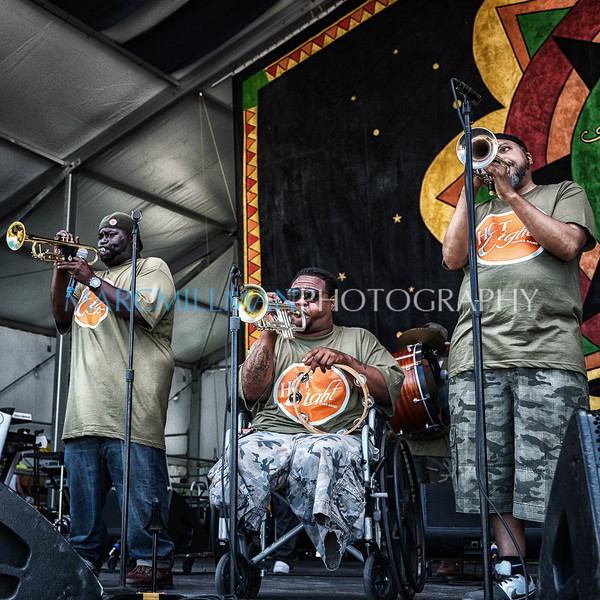 Hot 8 Brass Band @ Congo Square (Fri 4/22/16)