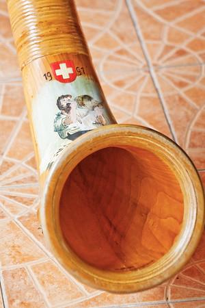 Swiss alphorn