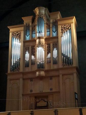 Taylor & Boody pipe organ -  Rieth Recital Hall, Goshen College, Goshen IN