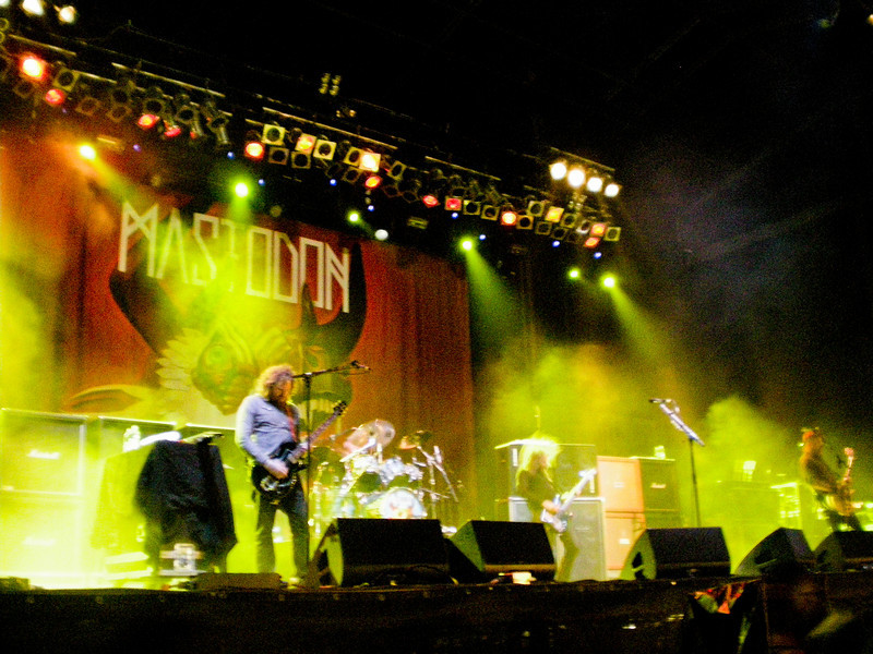 Saturday's last gig: Mastodon