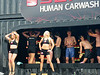 Human carwash sponsored by Seat