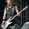 Frank Bello (Anthrax) @ Rockavaria - Olympiapark - München/Munich - Germany/Alemania