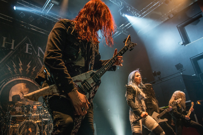 The band (Arch Enemy) @ Le Splendid - Lille - France