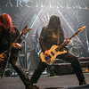Michael Amott & Sharlee D'Angelo (Arch Enemy) @ Le Splendid - Lille - France