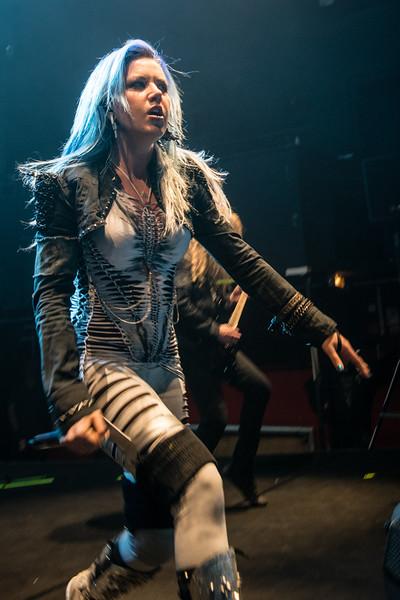 Alissa White-Gluz (Arch Enemy) @ Le Splendid - Lille - France