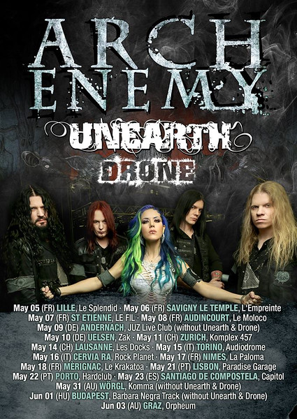 Arch Enemy @ Le Splendid - Lille - France