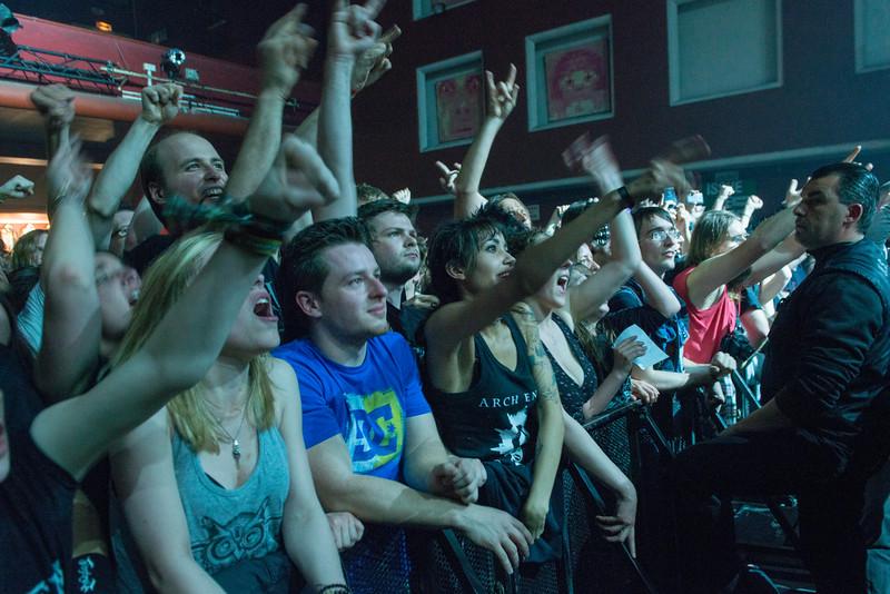 Fans (Arch Enemy) @ Le Splendid - Lille - France