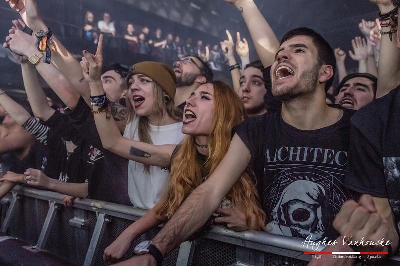 Architects audience @ Santana 27 - Bilbao - Spain/España