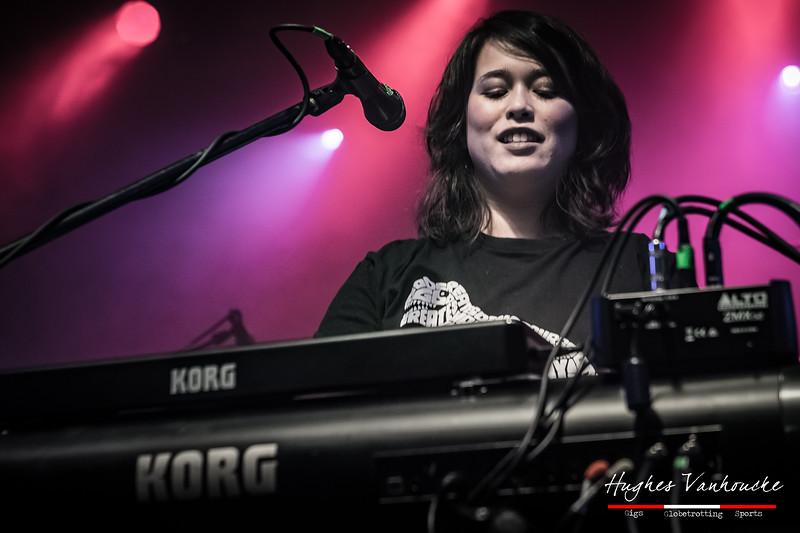 Courtney Swain - Bent Knee @ Essigfabrik - Cologne/Colonia - Germany/Alemania