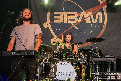 Between The Buried And Me @ Dour Festival 2016