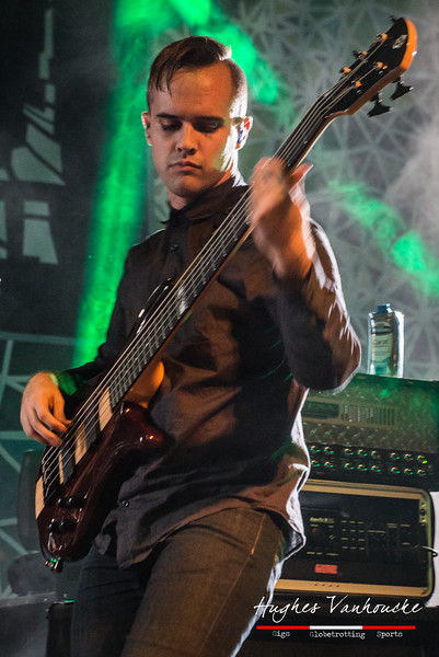 Dan Briggs (Between The Buried And Me) @ Euroblast 2015 - Essigfabrik - Cologne/Colonia - Germany/Alemania