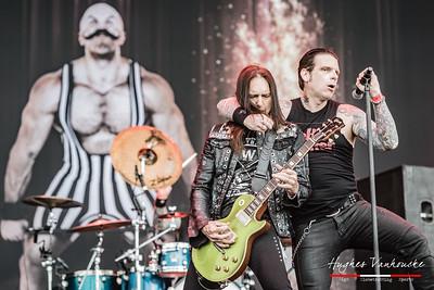 Black Star Riders (USA/IRL) @ Graspop Metal Meeting 2017 - Dessel - Belgium/Bélgica