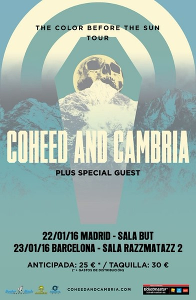 Coheed And Cambria @ Sala Razzamatazz - Barcelona - Spain/España