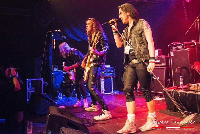 Crazy Lixx @ Wildfest - JC 't Spiraal - Geraardsbergen - Belgium/Bélgica