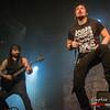 "Yves ""Z"" Terzibachia & Shawter (Dagoba) @ Epic Metal Fest - Klokgebouw - Eindhoven - The Netherlands/Holanda"
