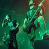 "Yves ""Z"" Terzibachian, Shawter & Werther (Dagoba) @ Epic Metal Fest - Klokgebouw - Eindhoven - The Netherlands/Holanda"