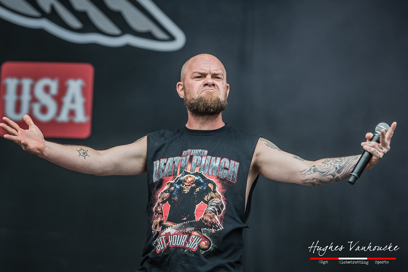 Ivan Moody - Five Finger Death Punch @ Pinkpop 2017 - Landgraaf - The Netherlands/Paises Bajos