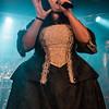 Veronica Bordacchini (Fleshgod Apocalypse) @ Trix - Vosselaar - Belgium/Bélgica