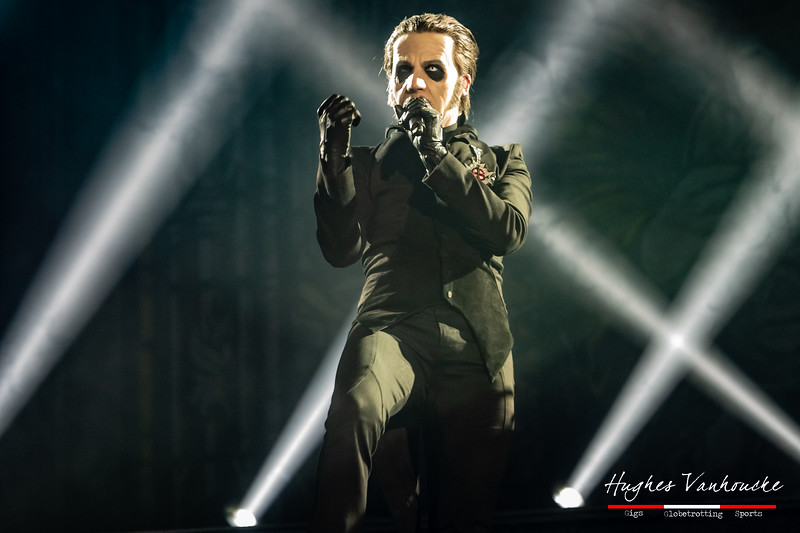 Cardinal Copia/Tobias Forge - Ghost @ Lotto Arena - Antwerp/Amberes - Belgium/Bélgica