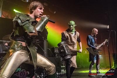 Gloryhammer @ Trix - Antwerp/Amberes - Belgium/Bélgica