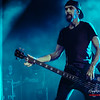 Robbie Merrill (Spector Euro4LX bass) - Godsmack @ Trix - Antwerp/Amberes - Belgium/Bélgica