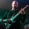 Charlie Griffiths (Kiesel Vader 8-string) - Haken @ Essigfabrik - Cologne/Colonia - Germany/Alemania