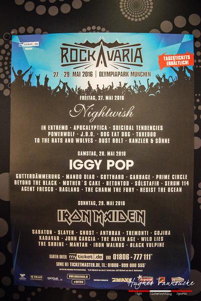 Headlining show - Iron Maiden @ Rockavaria - Olympiapark - München/Munich - Germany/Alemania