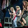 Dave Murray , Adrian Smith & Steve Harris (Iron Maiden) @ Rockavaria - Olympiapark - München/Munich - Germany/Alemania