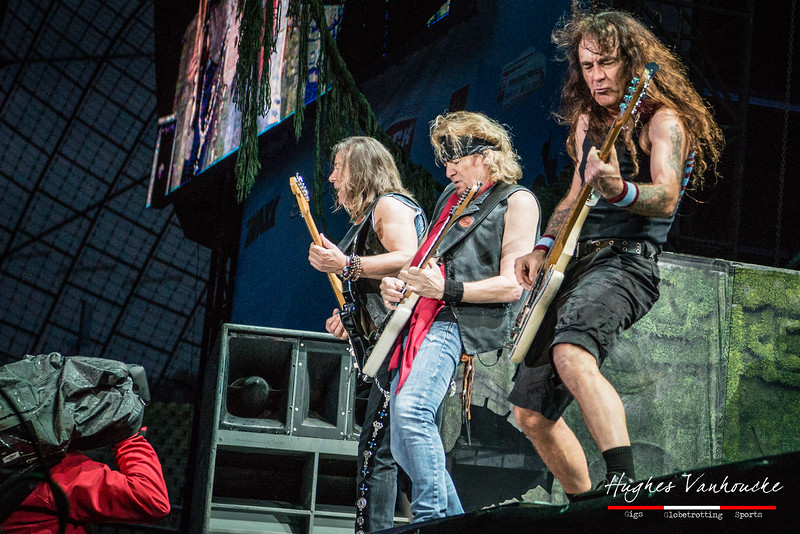 Dave Murray , Adrian Smith & Steve Harris (Iron Maiden) @ Rockavaria - Olympiapark - München/Munich - Germany/Alemania