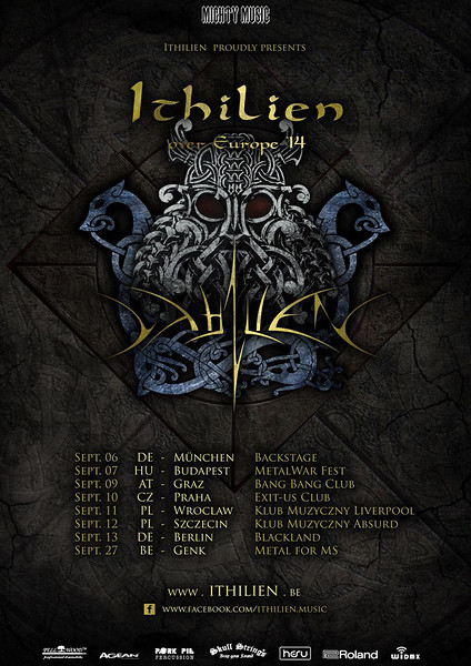 Ithilien From Ashes to the Frozen Land European Tour 2014