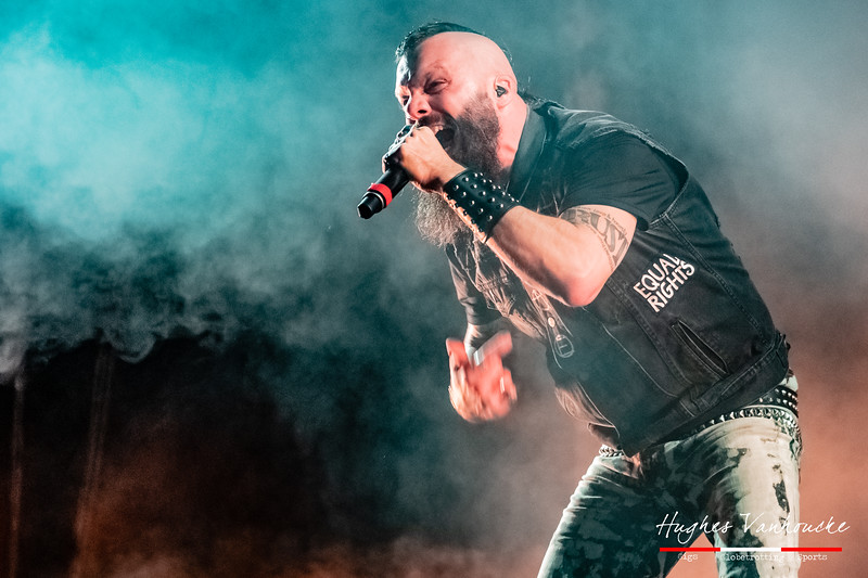 Jesse Leach - Killswitch Engage @ Vorst Nationaal/Forest National - Brussels/Bruselas - Belgium/Bélgica