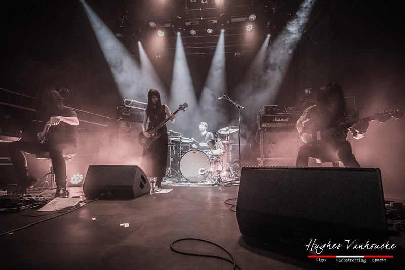 "Hideki ""Yoda"" Suematsu, Tamaki Kunishi, Yasunori Takada & Takaakira ""Taka"" Goto (MONO) @ Poppodium 013 - Tilburg - The Netherlands/Países Bajos"