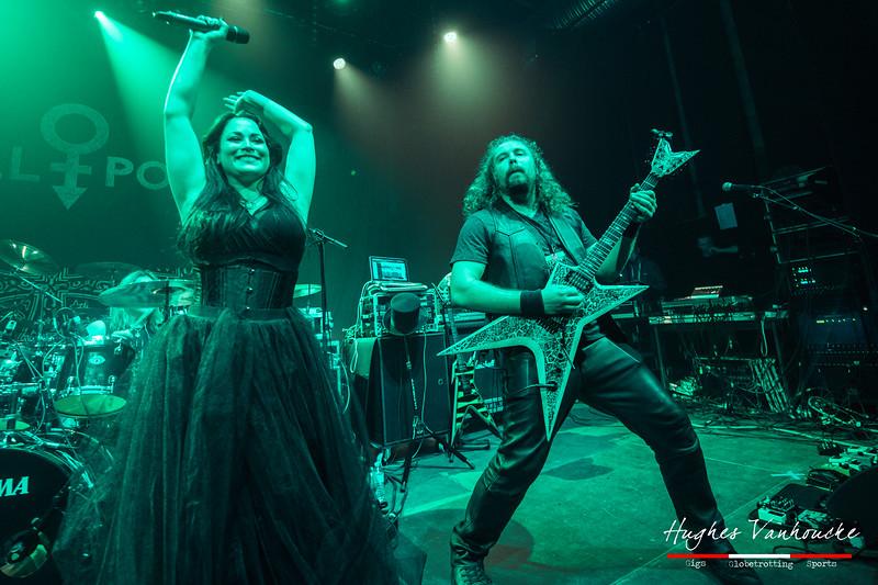Raine Hilai & Richard Fischer - Midnight Eternal @ De Kreun - Kortrijk - Belgium/Bélgica