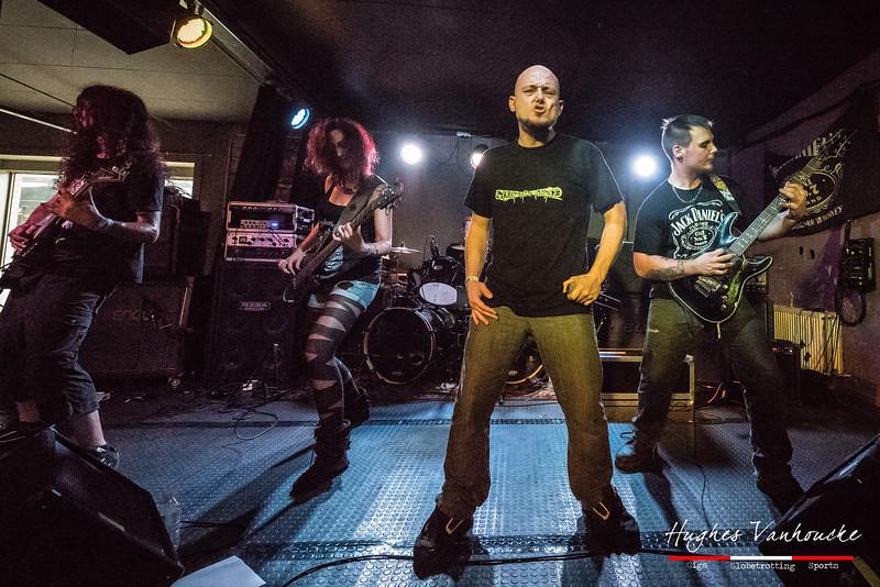 Monolyth @ Trash Mercenaries Tour 2016 - De Verlichte Geest - Roeselare/Roulers - Belgium/Bélgica