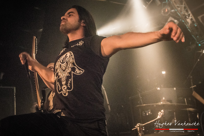 Zaher Zorgati - Myrath (ميراث) @ Biebob - Vosselaar - Belgium/Bélgica