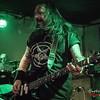 Jeff Williams (Onslaught) @ Trash Mercenaries Tour 2016 - De Verlichte Geest - Roeselare - Belgium/Bélgica
