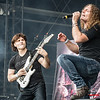 Luca Turilli & Fabio Lione - Rhapsody @ Main Stage - Graspop Metal Meeting - Dessel - Belgium/Bélgica