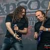 Fabio Lione & Dominque Leurquin - Rhapsody @ Main Stage - Graspop Metal Meeting - Dessel - Belgium/Bélgica