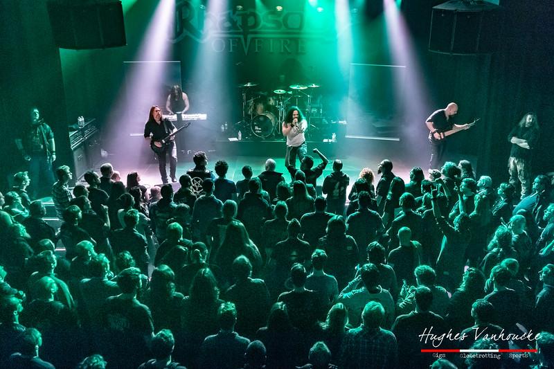 Rhapsody of Fire @ Wilde Westen - Kortrijk - Belgium/Bélgica