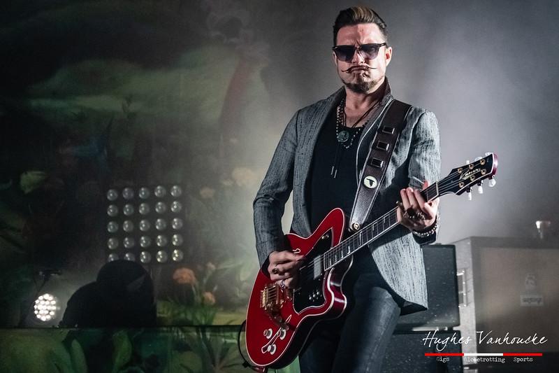 Scott Holiday (Kauer Super Chief) - Rival Sons @ Trix - Antwerp/Amberes - Belgium/Bélgica